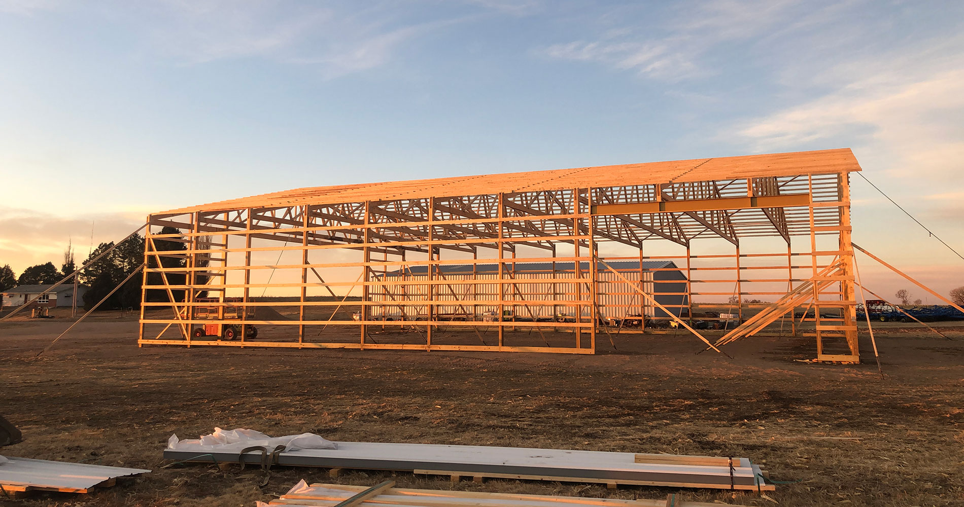 Post Frame and Pole Barn Construction Services